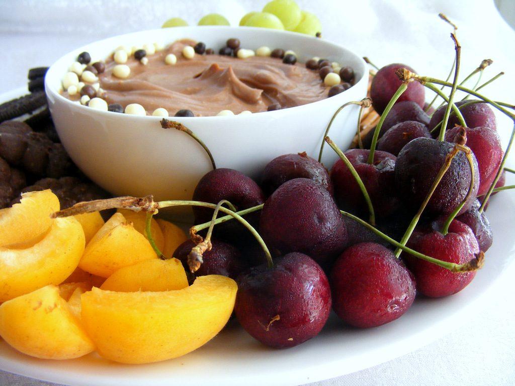 קרם גבינה ושוקולד