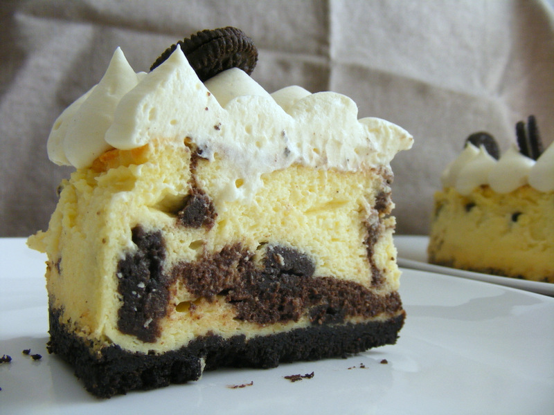עוגת גבינה שיש אוראו
