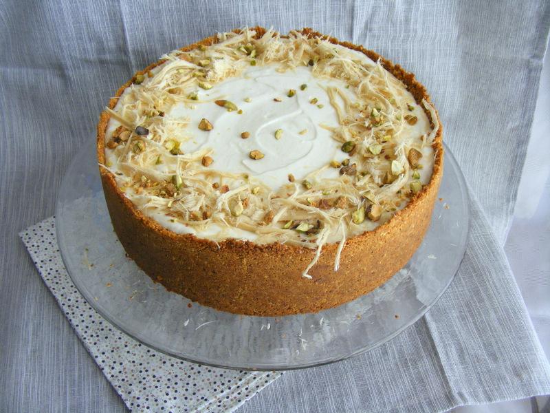 עוגת גבינה חלבה