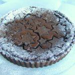 פאי בראוניז שוקולד במלית שוקולד עשירה עם עוגיות כוכבים יפהפיות