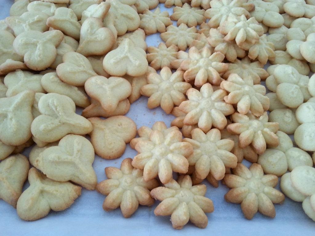 עוגיות חמאה עם אקדח עוגיות בטעמים וניל או שוקולד
