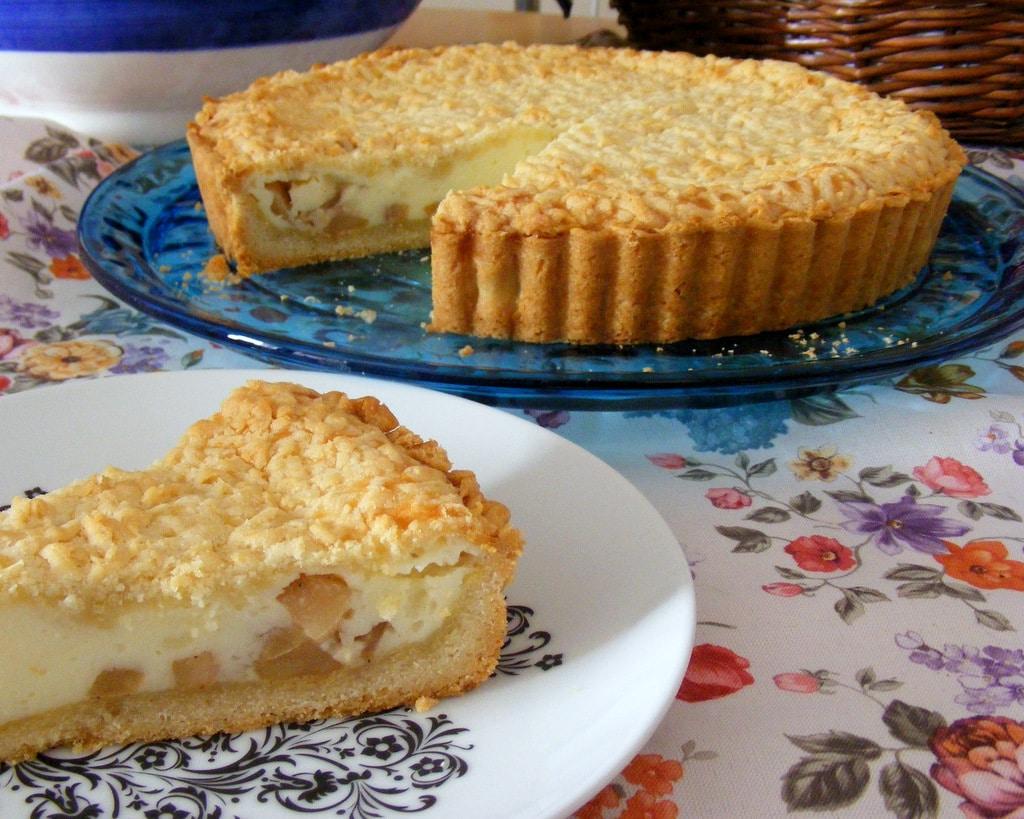 פאי תפוחים עם גבינה הפאי מושלם לשבועות