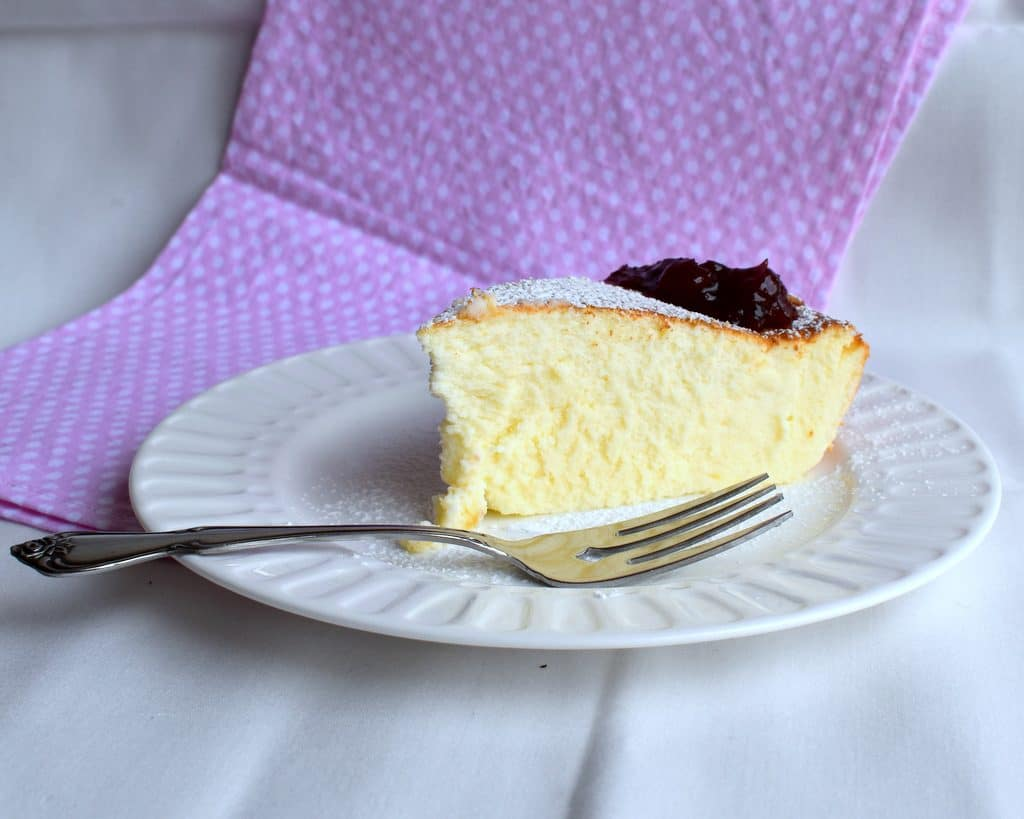 עוגת גבינה אפויה קלה ללא גלוטן וממש טעימה