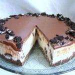 עוגת גבינה ועוגיות אוראו ללא אפייה המתכון הכי טעים