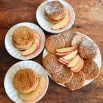 פנקייק תפוחים פרווה עם שיבולת שועל