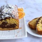 עוגת שיש עם מיץ תפוזים - עוגה בחושה וקלה להכנה