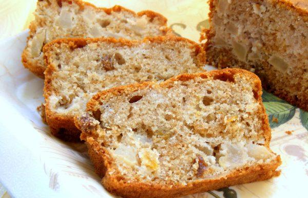 עוגת תפוחים בחושה פרווה עוגה של בית