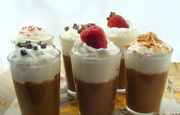מילקי תוצרת בית מעדן שוקולד וקצפת שילדים אוהבים