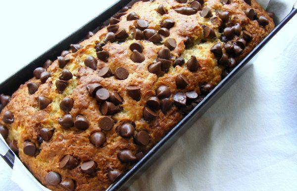עוגת בננה קוקוס ושוקולד
