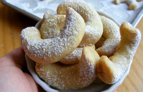 עוגיות שקדים סהרוני חמאה ושקדים טחונים