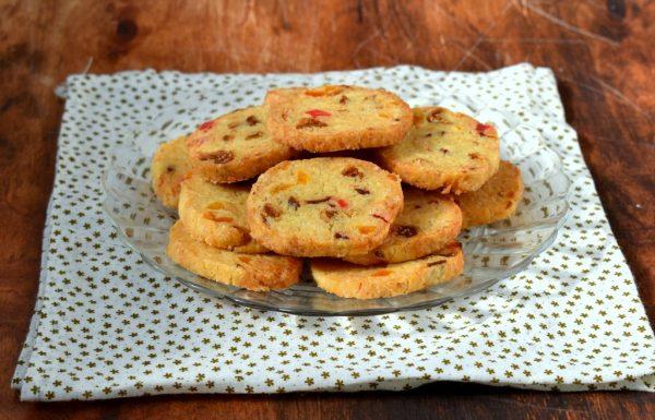 עוגיות פירות יבשים פריכות בניחוח הדרים