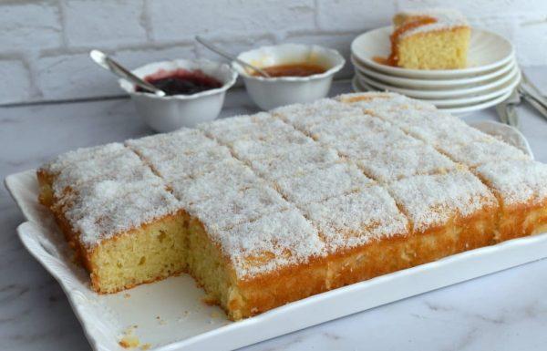 עוגת קוקוס מוינה מתכון לעוגת קוקוס בחושה