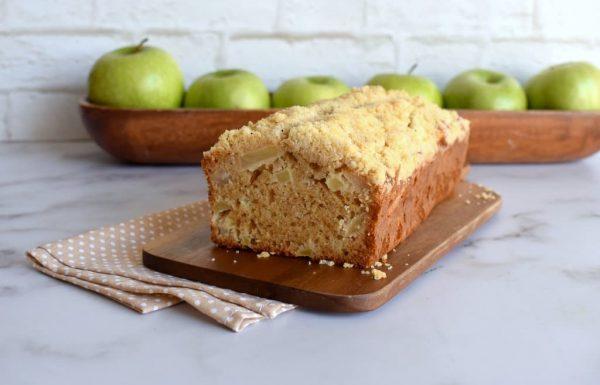 עוגת תפוחים פירורים בחושה וממש קלה להכנה