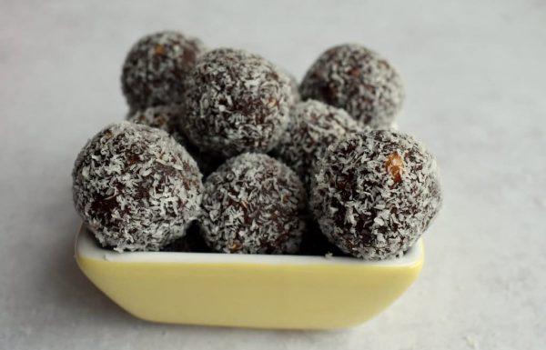 כדורי שוקולד וחמאת בוטנים