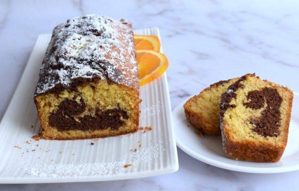 עוגת שיש עם מיץ תפוזים – עוגה בחושה וקלה להכנה