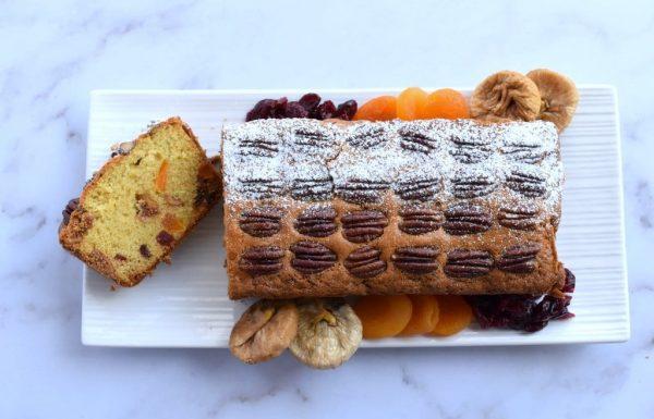 עוגת פירות יבשים עשירה קלה להכנה וטעימה