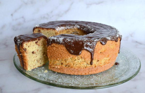 עוגת תפוזים קוקוס ושוקולד