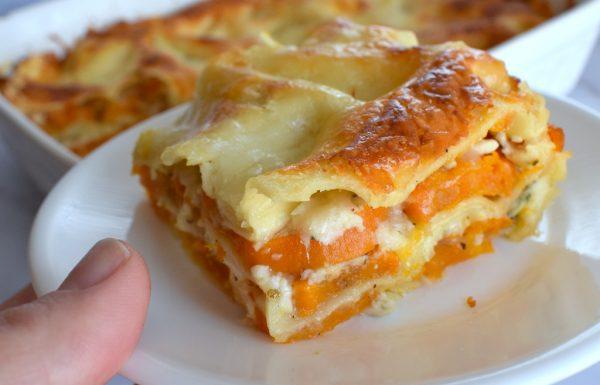 לזניה בטטה גבינות ורוטב בשמל מוקרמת