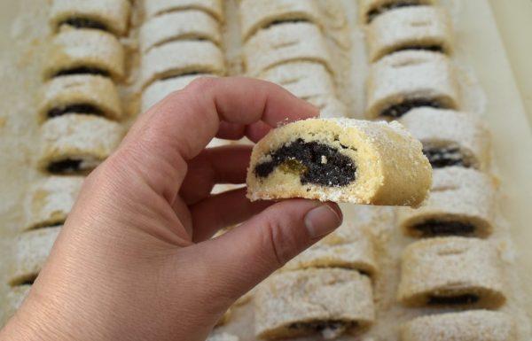 עוגיות פרג מגולגלות