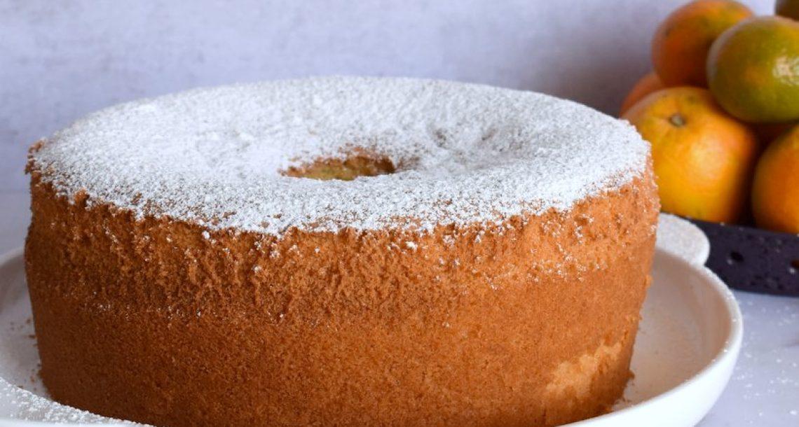 עוגת תפוזים וקלמנטינות פרווה גבוהה ואוורירית