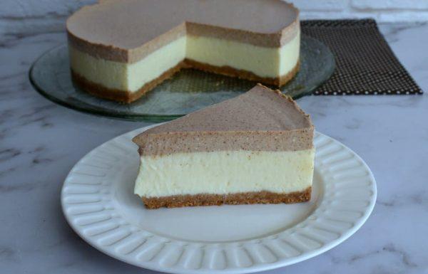 עוגת גבינה עם קינמון