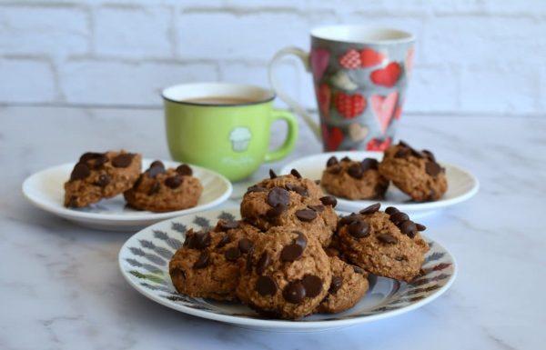 עוגיות שוקולד צ'יפס עם טחינה ושיבולת שועל הכי טעימות!