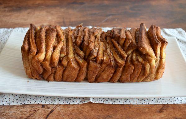 עוגת שמרים ריבועי קינמון וריבועי שוקולד