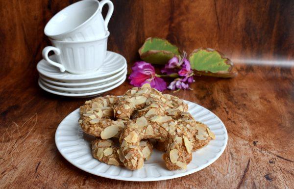 עוגיות אגוזים ושקדים עוגיות ללא קמח וללא גלוטן