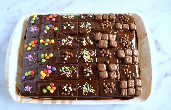 עוגת שוקולד בחושה. מעולה לילדים וימי הולדת