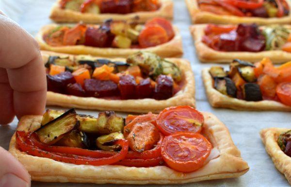 מאפה ירקות בסגנון איטלקי נהדר למנה ראשונה