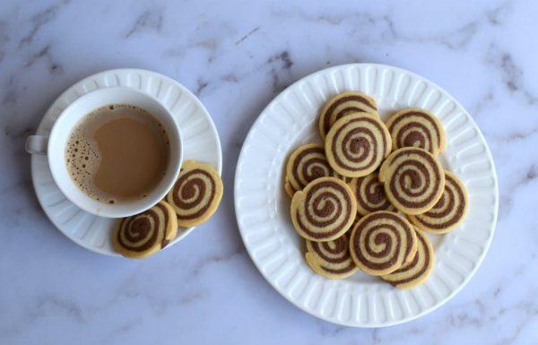 עוגיות שיש שבלול מהממות בצורת ספירלה